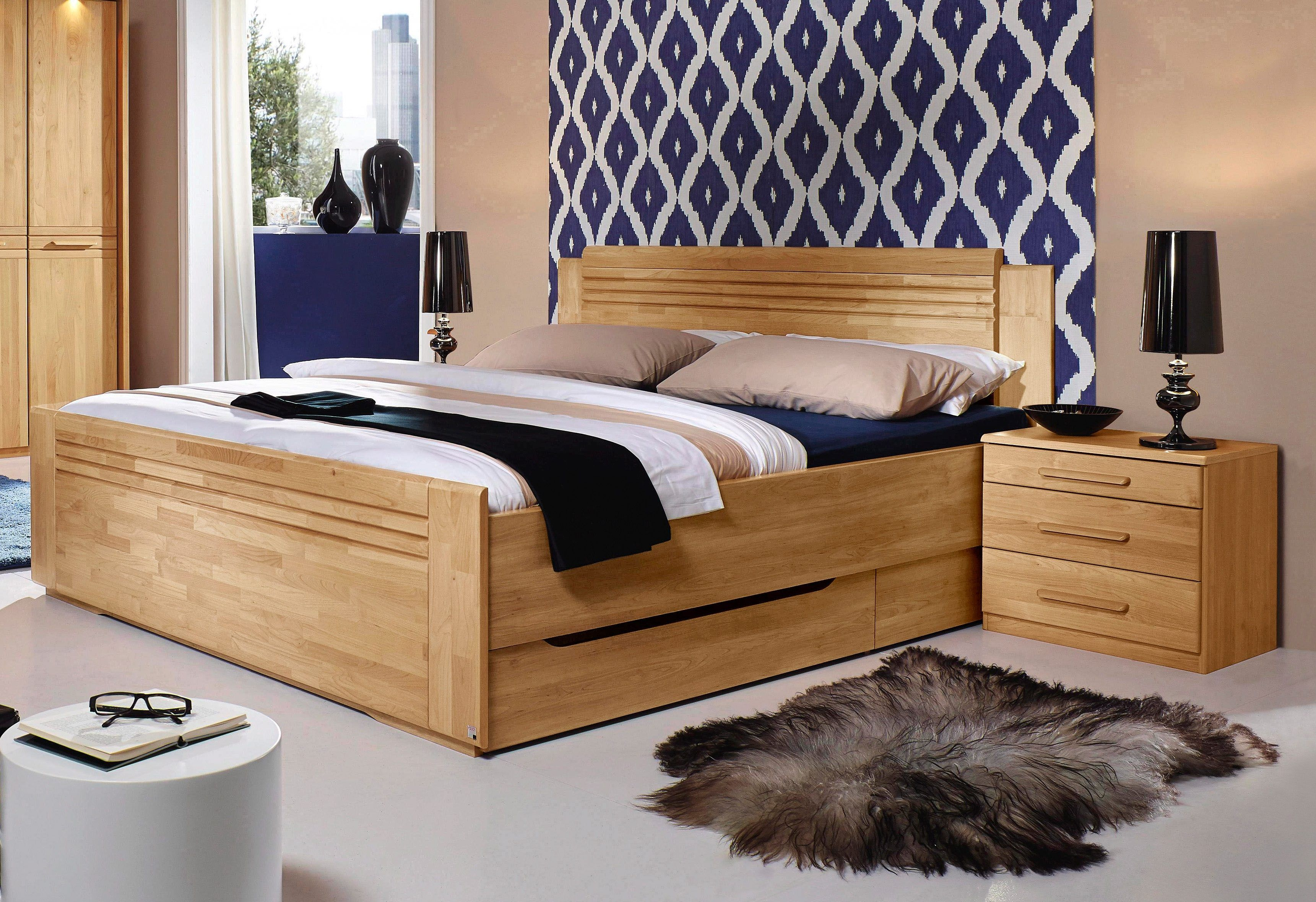komplettset schlafzimmer schlafzimmer spitzboden tapezier ideen ebay kommode my home bettw sche. Black Bedroom Furniture Sets. Home Design Ideas