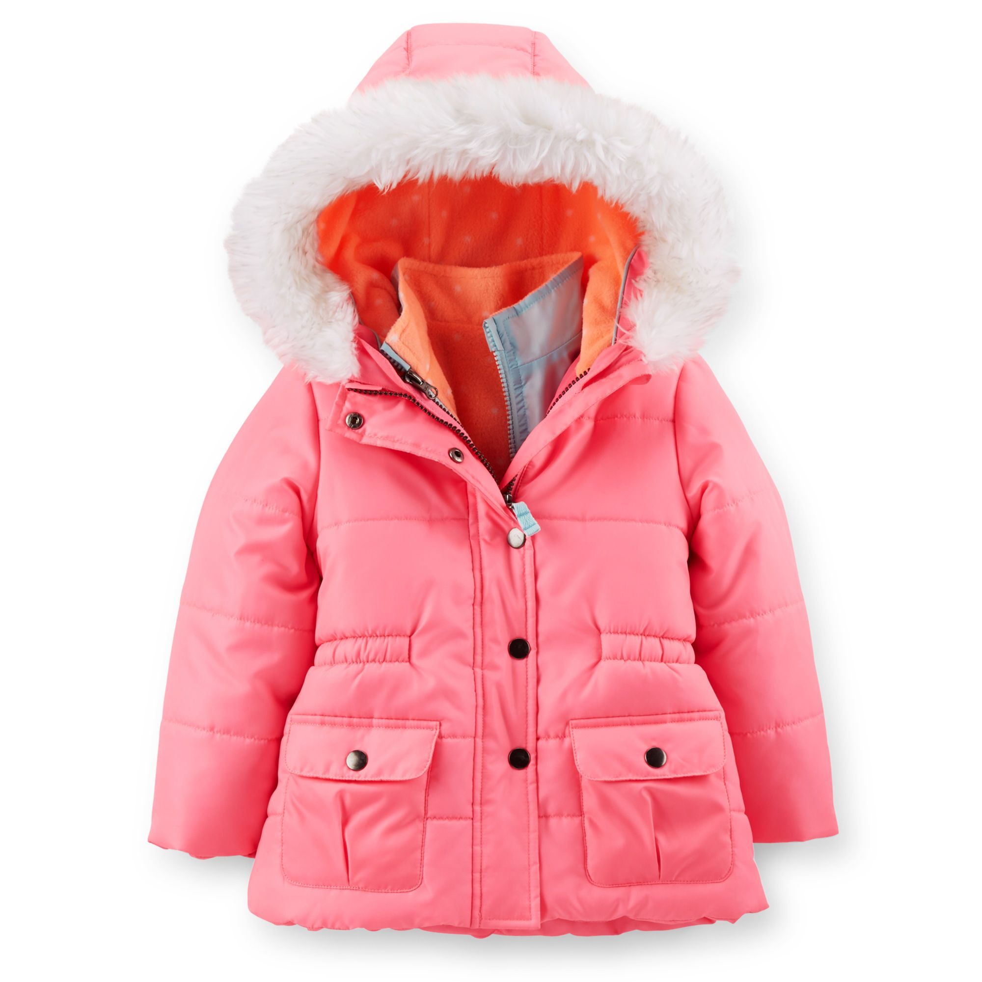 Carters Little Boys 4 In 1 Systems Jacket Toddler//Kid