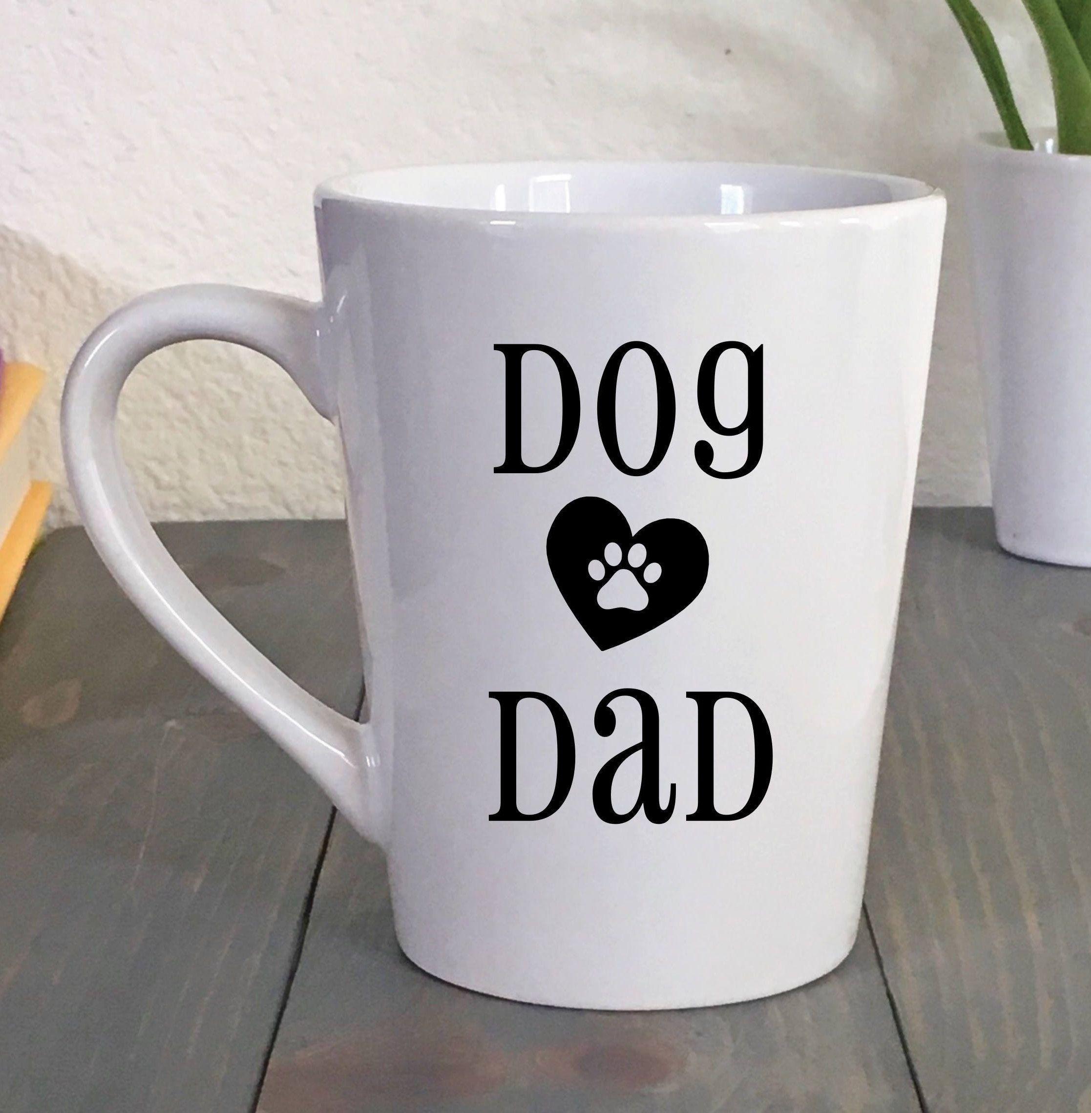 Dog dad mug fur dad coffee mug dog dad gift stocking