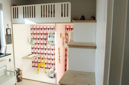 Een Kleine Babykamer : Kleine maar effectieve kinderkamer kids rooms kinderkamer