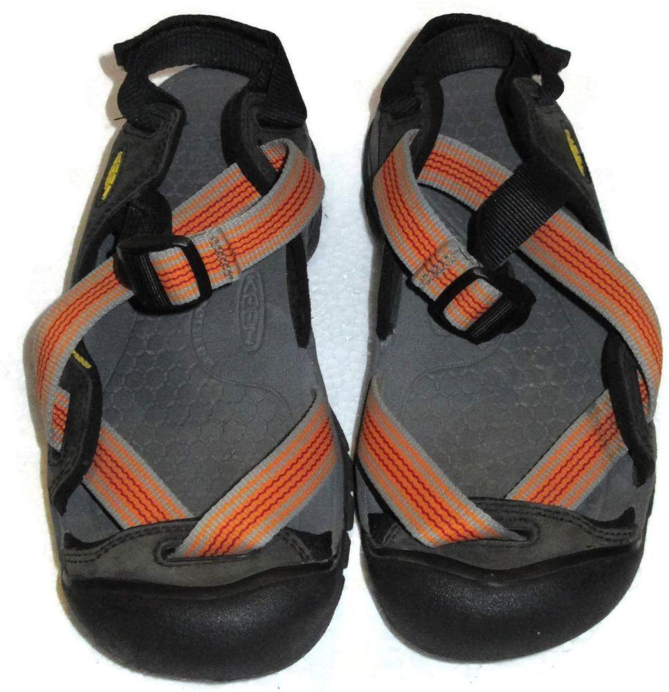 Keen Zerraport Sandals Orange Gray Size 7 Footwear Water Womens Elastic  #KEEN #SportSandals