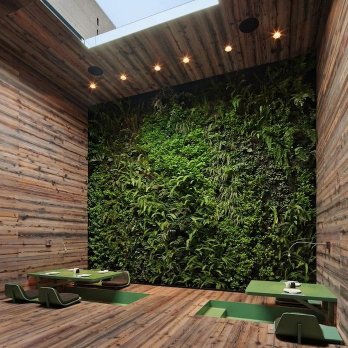 Jardines verticales interior pero con luz natural - Jardines verticales interiores ...