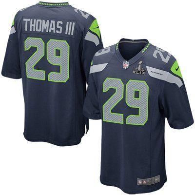 8e6fc6c20 ... 2015 Seattle Seahawks 29 Earl Thomas III Super Bowl XLIX Elite Jersey  (www.