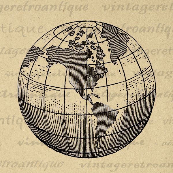 Printable earth globe clipart world map digital image graphic planet printable earth globe clipart world map digital image graphic planet art download printable antique clip art jpg png eps hq 300dpi no2940 gumiabroncs Images