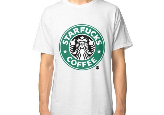 c92d881d8 Buy 'StarFucks Coffee' by D-AF-T as a T-Shirt, Classic T-Shirt, Tri-blend T- Shirt, Lightweight Hoodie, Fitted Scoop T-Shirt, Fitted V-Neck T-Shirt, ...