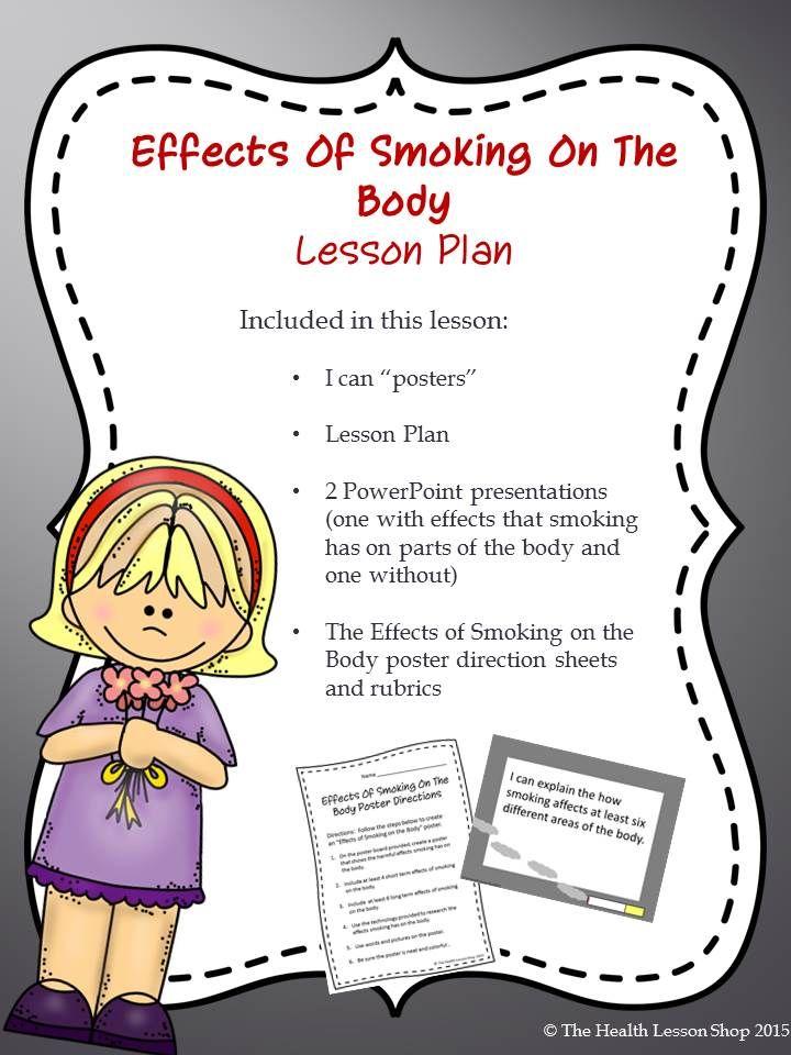 smoking presentation ideas