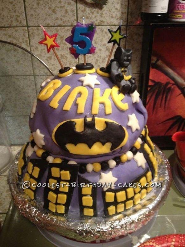 Coolest Lego Batman Cake For A YearOld Lego Batman Cakes - Lego batman birthday cake