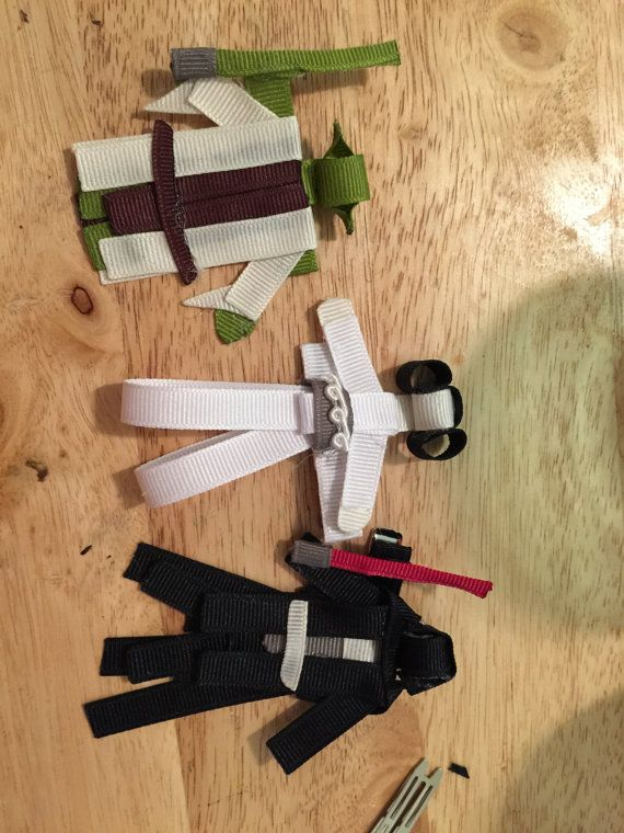 Star Wars characters by littlemissfancybows on Etsy