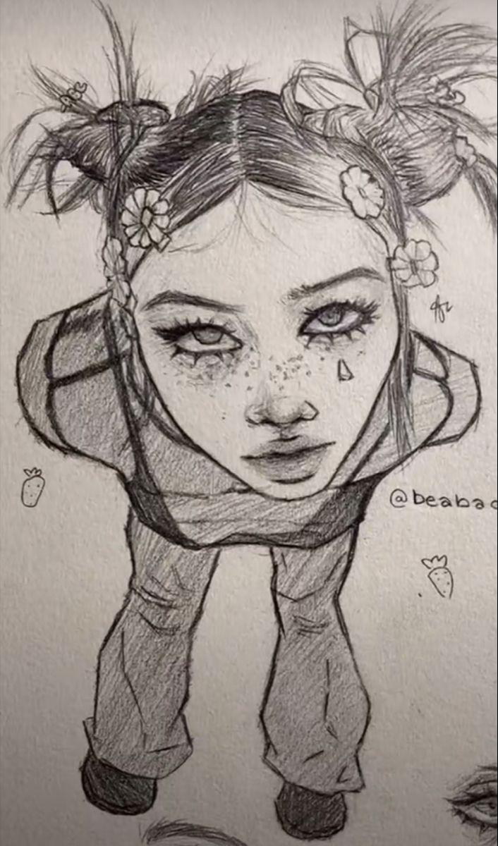 Dai Lev On Tiktok Hippie Art Art Drawings Sketches Drawings