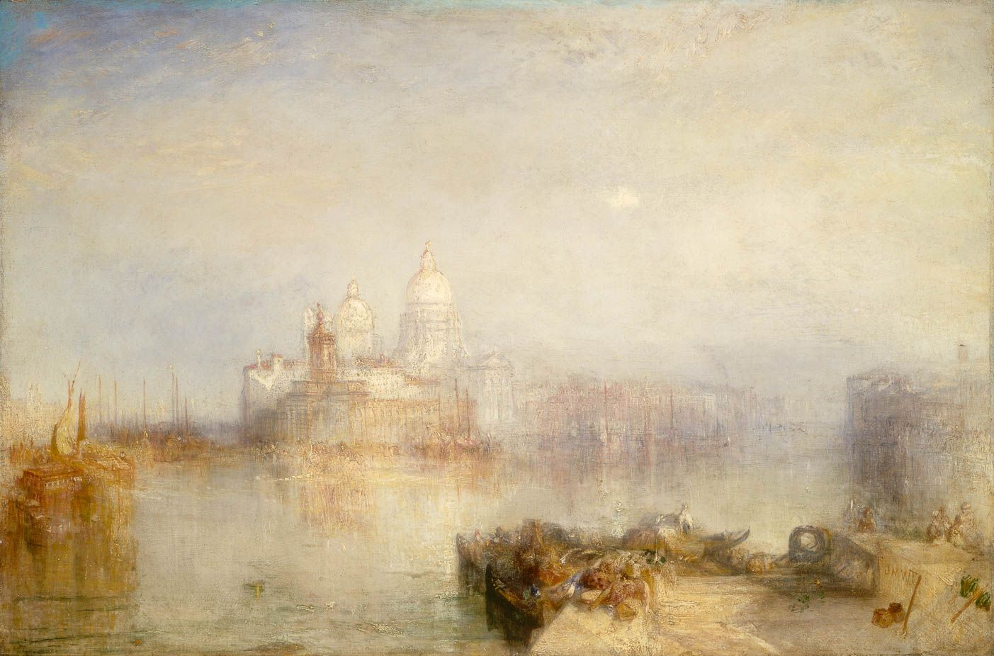 La Dogana Et Sainte Marie Du Salut A Venise William Turner