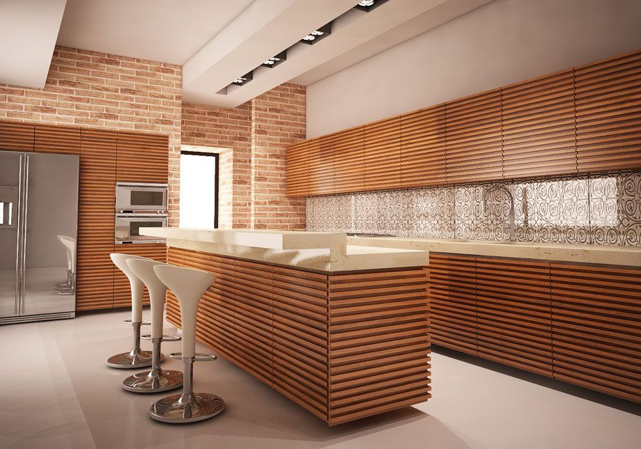 Wood Kitchen - Marco Pieri designer
