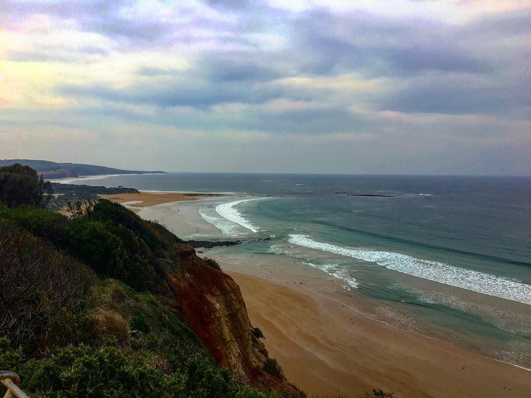 The Great Ocean Road is an Australian National Heritage listed 243 kilometres stretch of road along the south-eastern coast of Australia between the Victorian cities of Torquay and Allansford.  by chamchamreun