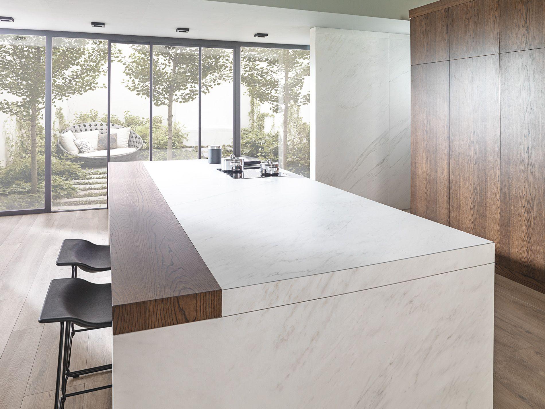 Tendencias en #cocinas; lujo y confort. Combinación del gres ...