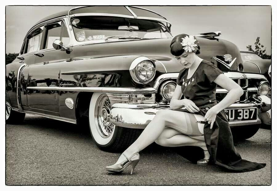 Pin up/classic Cadillac   Classic Cars &Pin ups ...