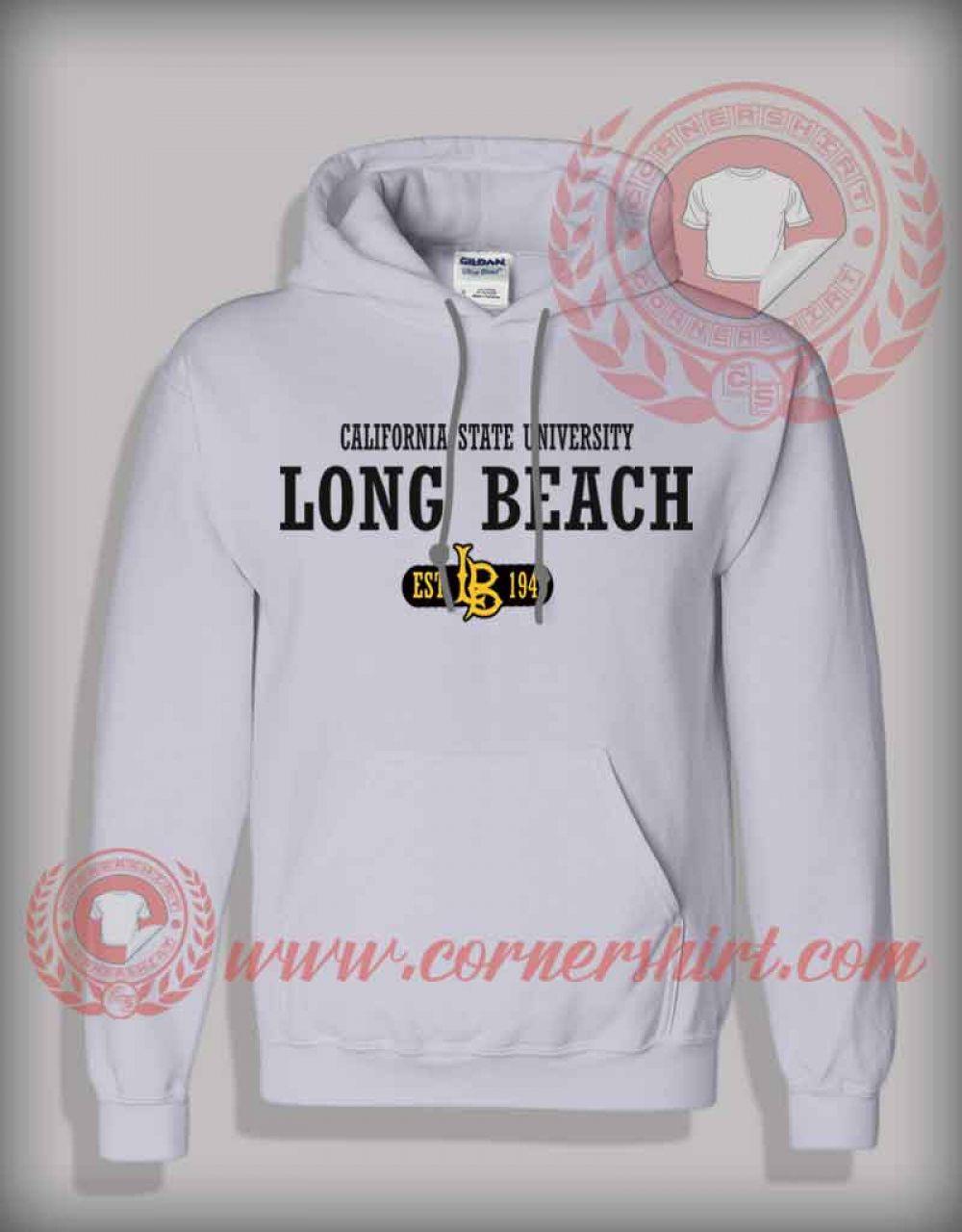 California State University Long Beach Hoodie Custom Design