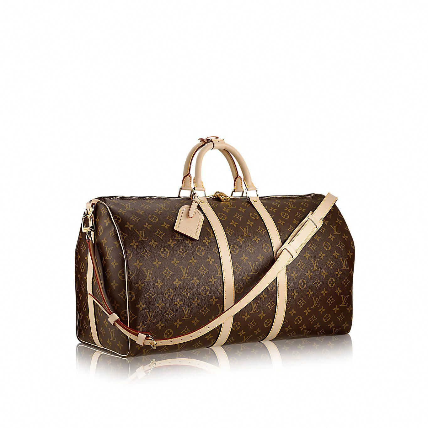 3fc444c715d5 Discover Louis Vuitton Keepall Bandoulière 55  An icon since the appearance  in 1930