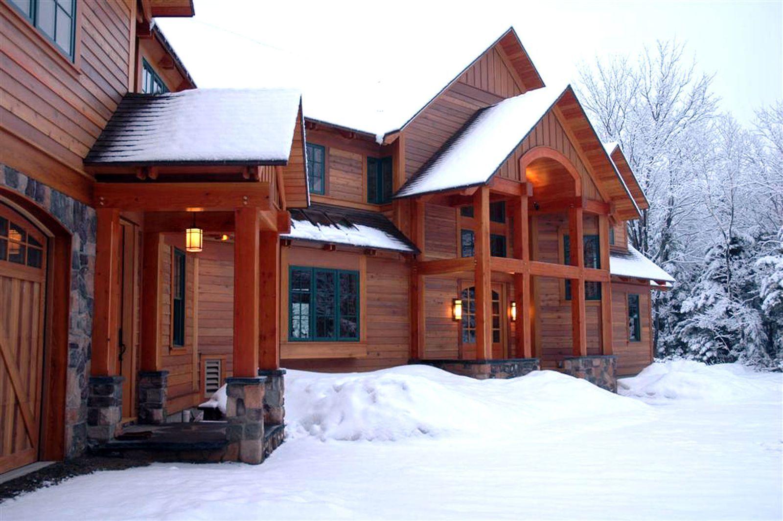 Ski House Plans Log Homes