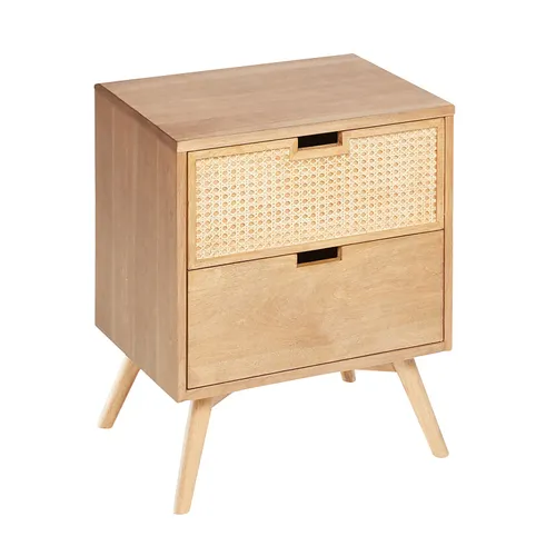 Think Simplicity Looks Plain Think Again Our Clean Lined Nightstand Makes A Major Style Statement With O In 2020 Natural Nightstands Modern Home Furniture Nightstand