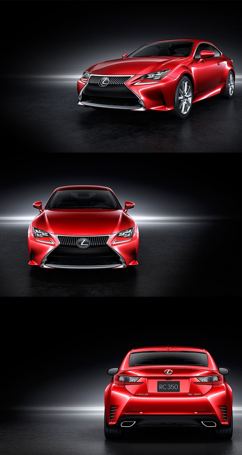 2015 2 door Lexus RC 350...seen a commercial for one of