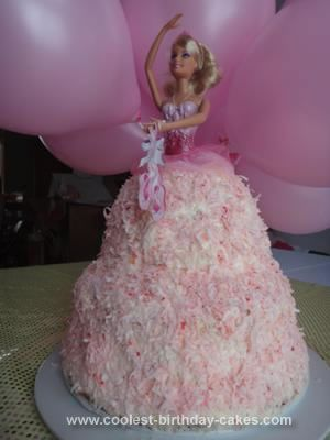 Ballet birthday cake recipes