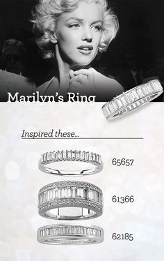 marilyn monroe ring Google Search Marilyn Monroe