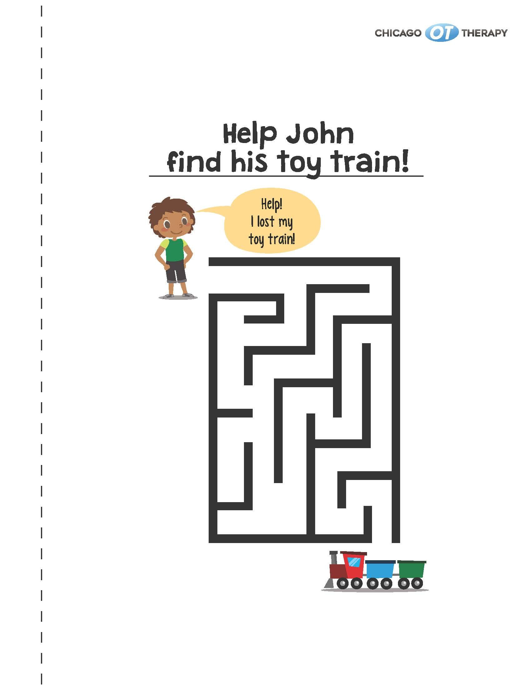 Maze Book Activity Worksheets