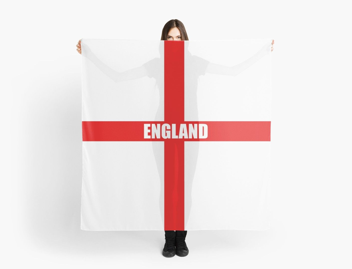 English Flag Flag Of England High Quality Image Scarf By Picturestation England Flag English Flag High Quality Images
