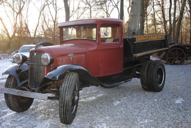1934 Ford Dump Truck Classic Trucks Farm Trucks Cool Trucks