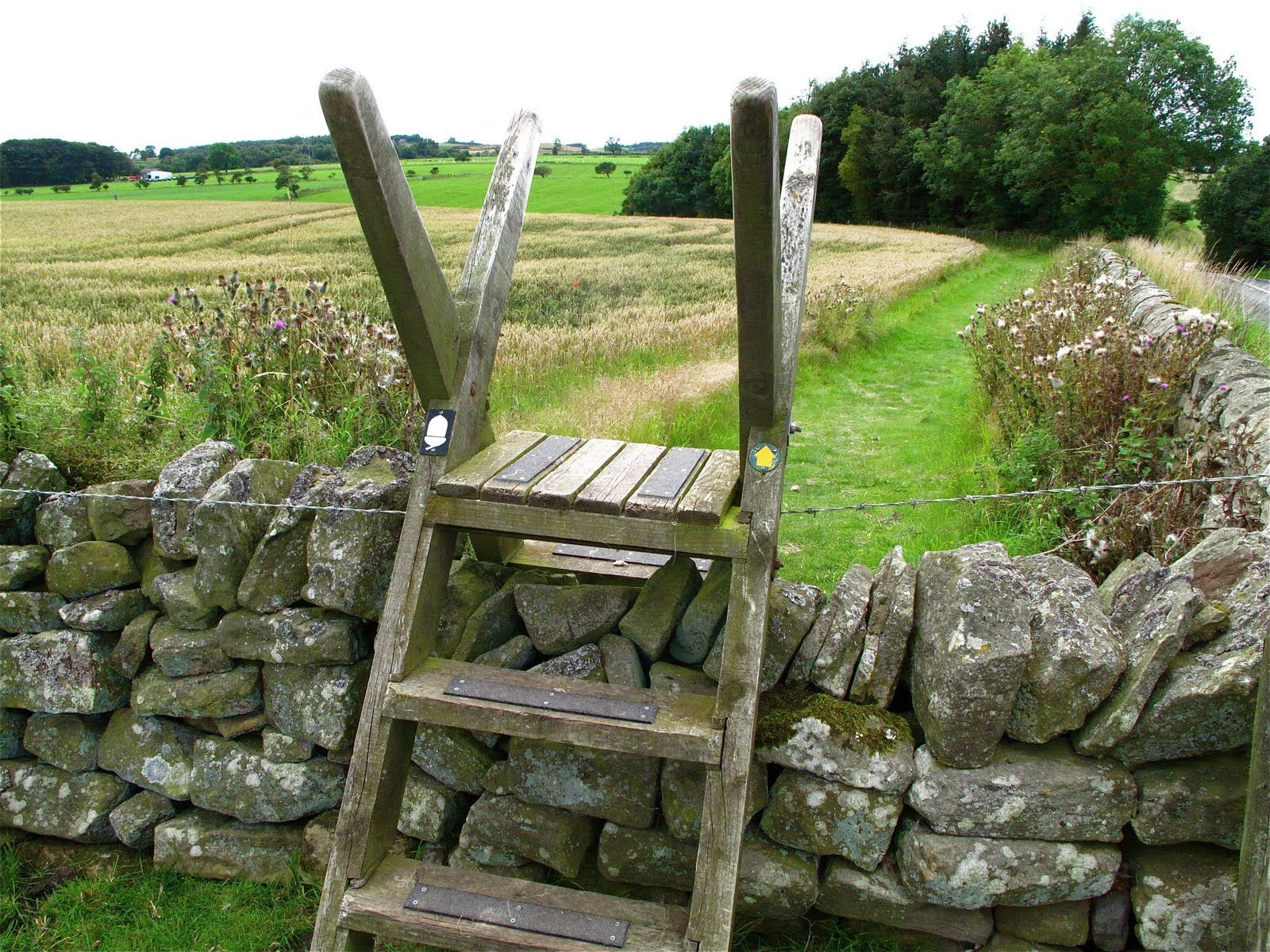 fence stile country stiles gates and fences