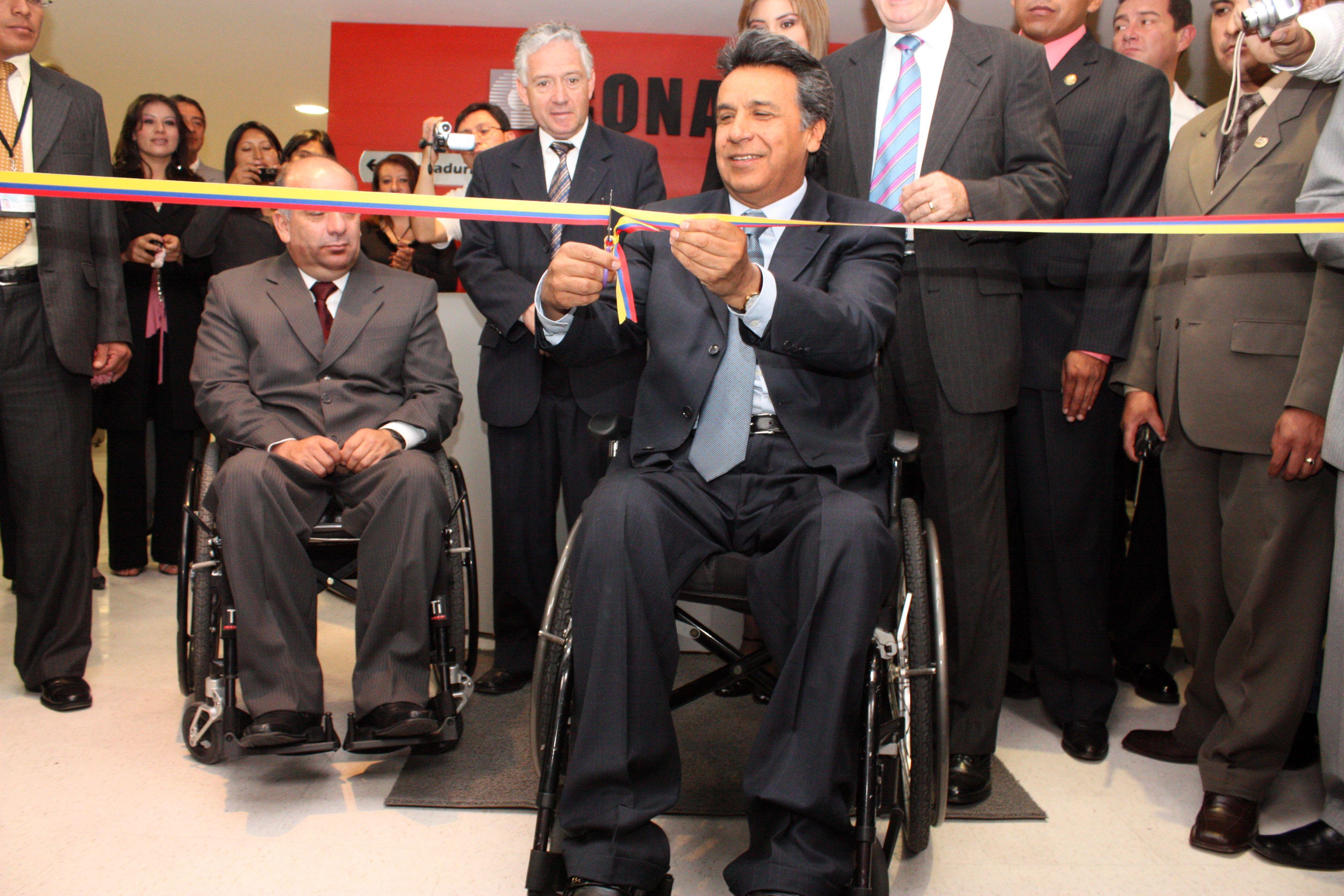 VP of Ecuador Lenn Moreno