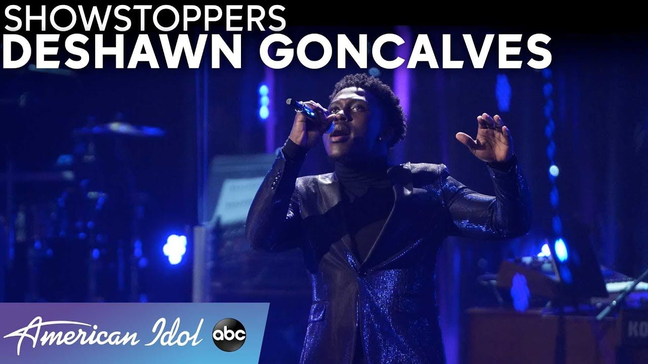 Deshawn Goncalves Puts His Own Spin On Judy Garland S Over The Rainbow American Idol 2021 Youtube In 2021 American Idol Judy Garland Goncalves