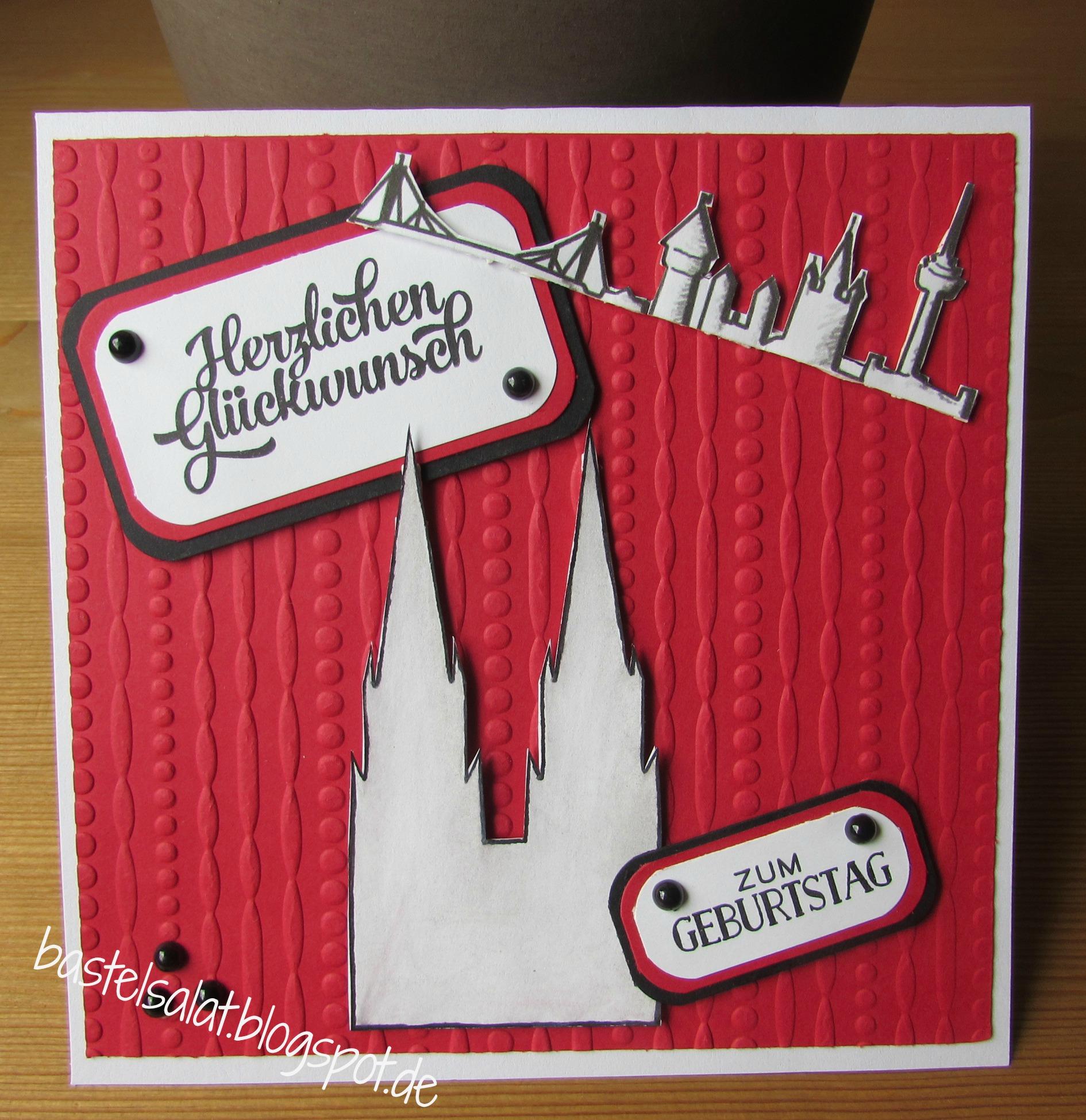 Ming Hatz Schlaat For Geburtstagskarte Karten Handgemacht Gutschein Basteln