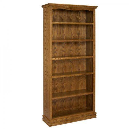 Americana Oak Bookcase 36 X 84 Light Oak 84 H X 36 W X 13 D By A E Wood Design 740 00 This Item Ships Common Carrier Wood Design Bookcase Oak Bookcase
