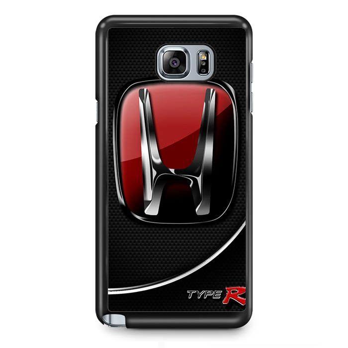 Honda Logo Car Red Samsung Phonecase For Samsung Galaxy Note 2 Note 3 Note 4 Note 5 Note Edge