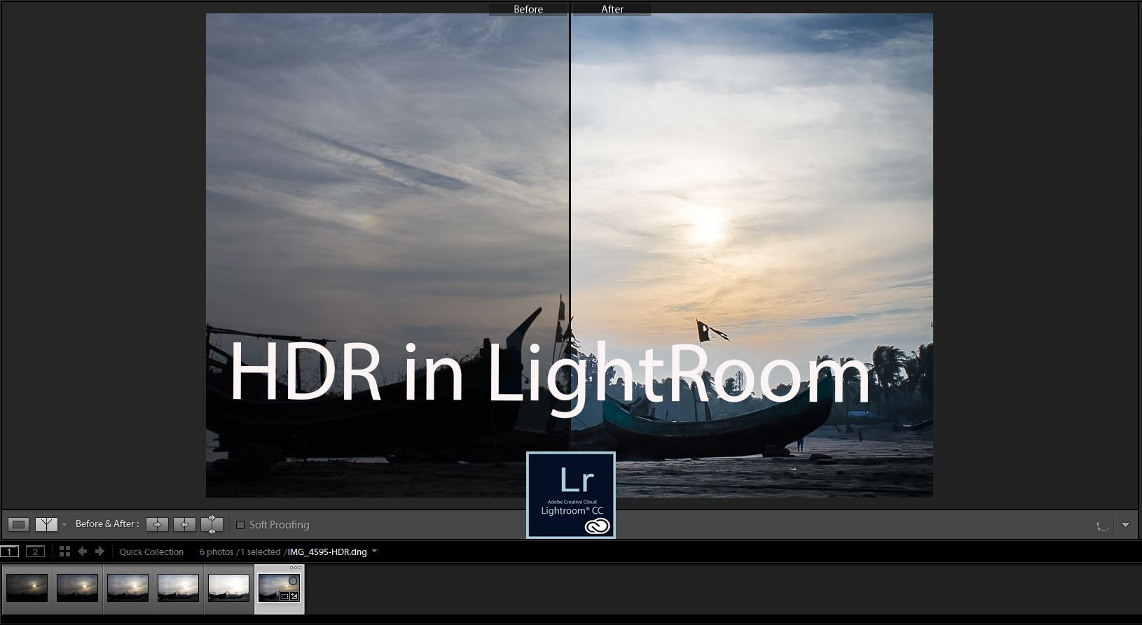Lightroom cc watermark