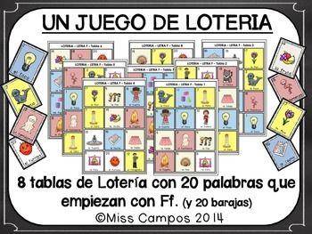 Letra F Silabas Fa Fe Fi Fo Fu Bilingual Education Spanish