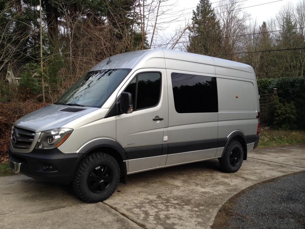 sprinter fender flares page 3 sprinter forum autos. Black Bedroom Furniture Sets. Home Design Ideas
