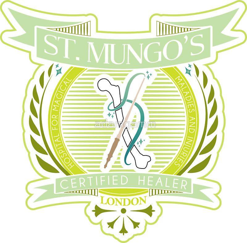 St Mungo S Certified Healer Healer Harry Potter Art Potter