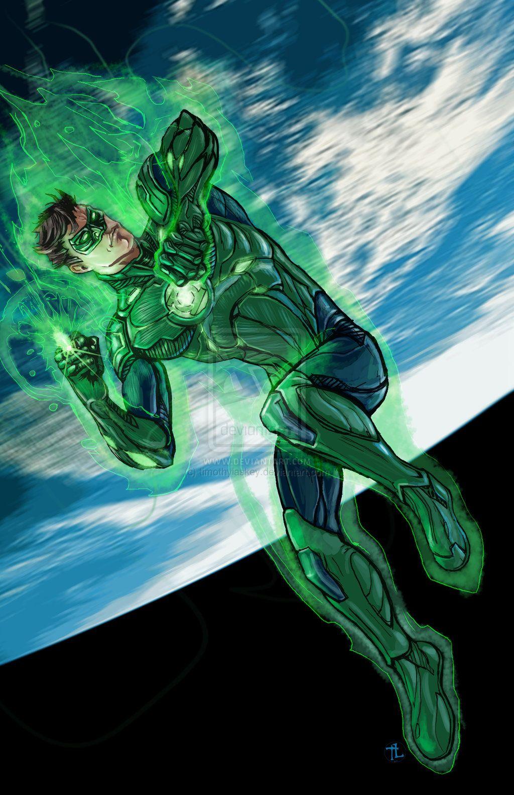 Green Lantern Hal Jordan Comics Stuff Corps Superhero