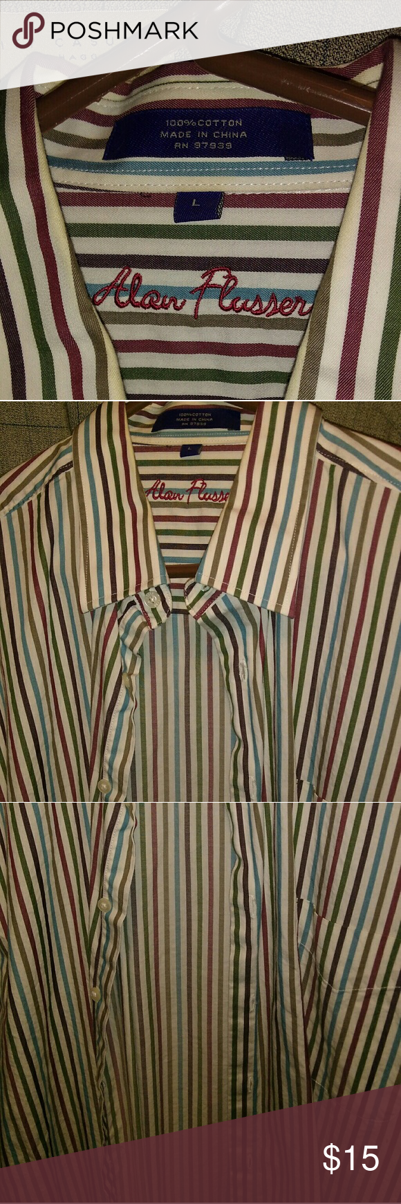 Button up casual shirt! This is a great casual dress shirt