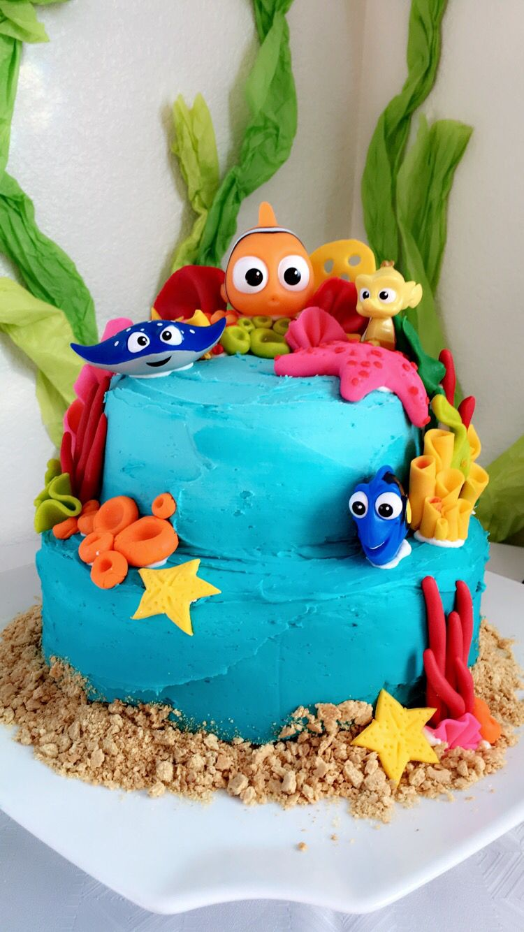 Finding Nemo Baby Shower Cake By Oliviaiman My Creations