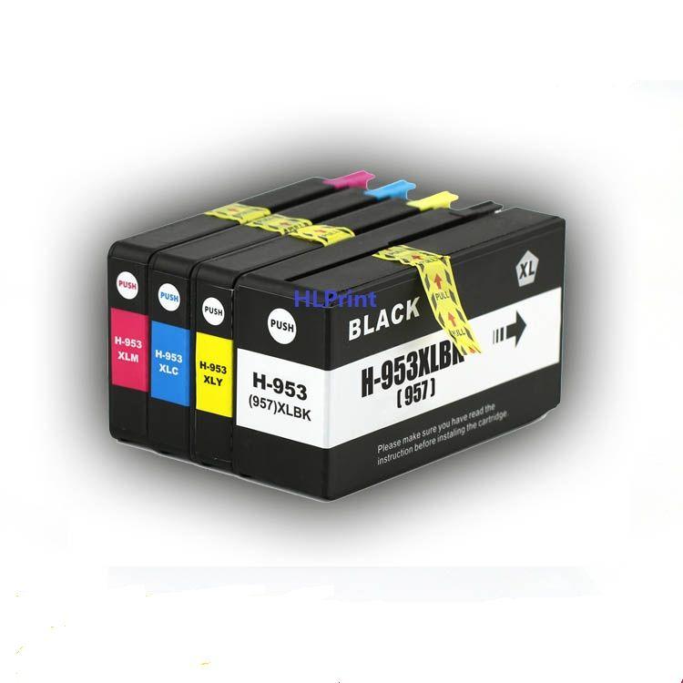 4pk Compatible Ink Cartridge Hp953xl 953xl 957xl For Officejet Pro 7740 8210 8710 8715 8720 8725 8728 8730 8740 All In On Ink Cartridge Hp Officejet Pro Inkjet