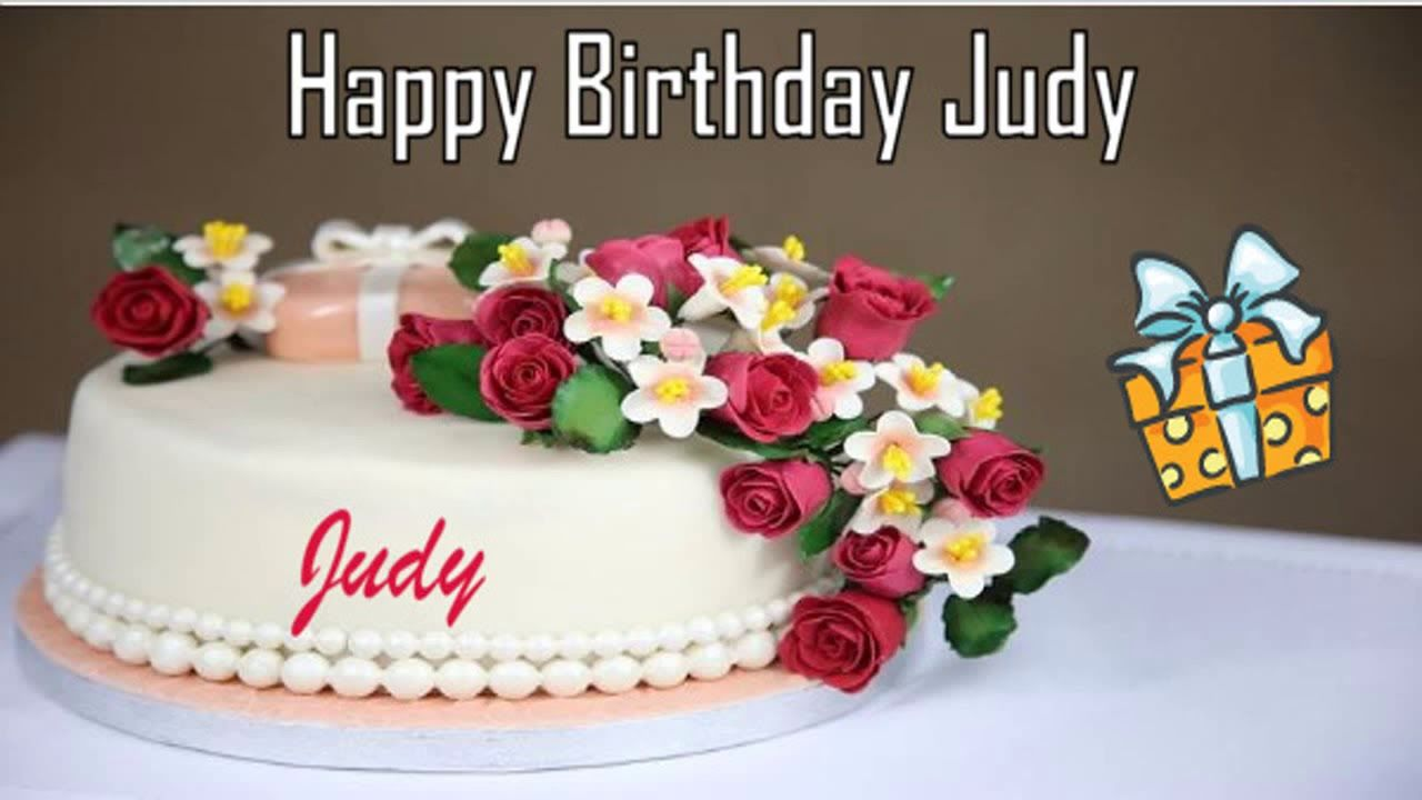 Pleasant Happy Birthday Judy Image Wishes Youtube With Images Happy Personalised Birthday Cards Cominlily Jamesorg