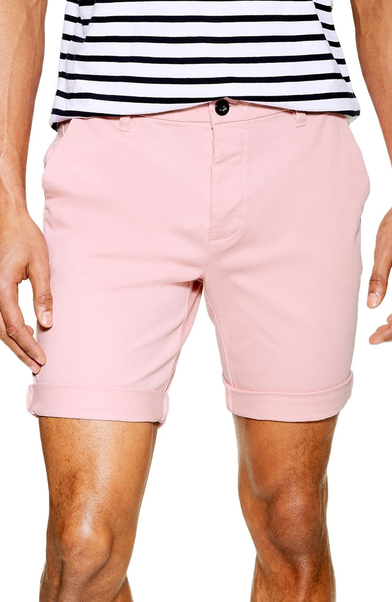 e7f4616e3ccf Topman Stretch Skinny Chino Shorts in 2019   Products   Skinny ...