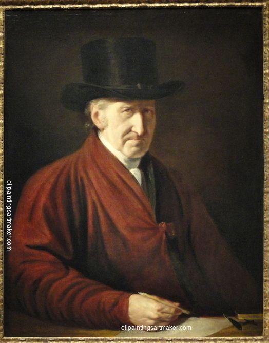 Benjamin West Self Portrait, 1819, painting Authorized official website