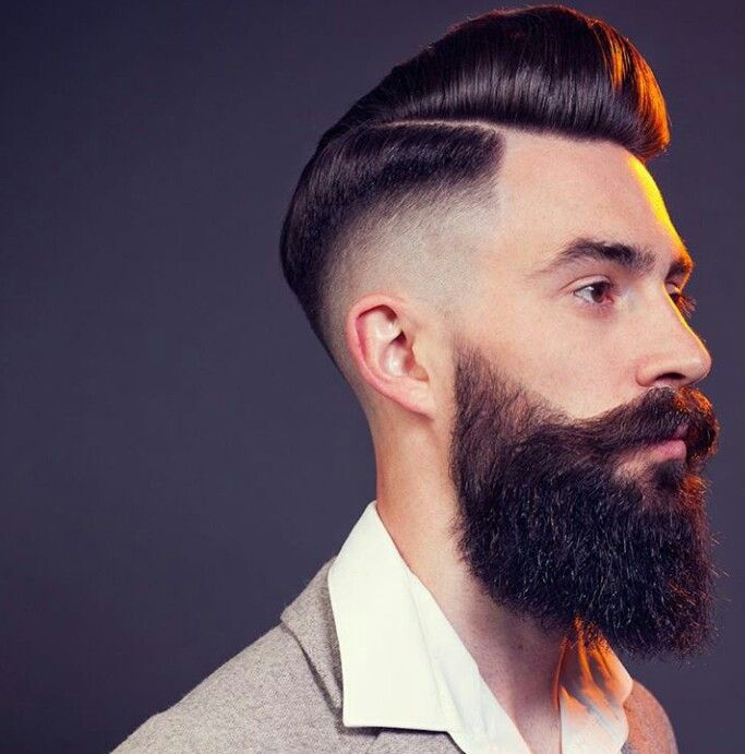 how to get a pompadour with thick hair