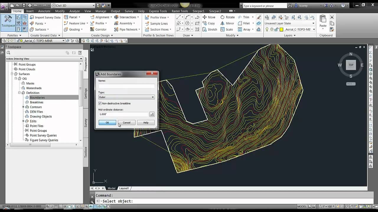 How to create surface from polylines in Civil 3D mp4 | Video