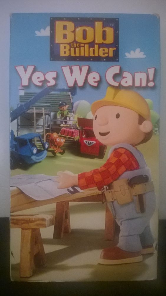 Bob the Builder LOT of 4 - Yes We Can! (VHS, 2005), Bob Saves The Day, &  2 more Starting bid:US $9.99
