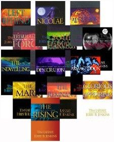 The Left Behind Series!!! Great books! Reading these literally changed my life forever! -Perla