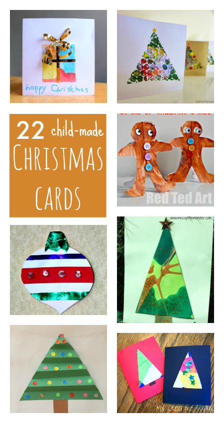 Kids Christmas Card Ideas Christmas card crafts